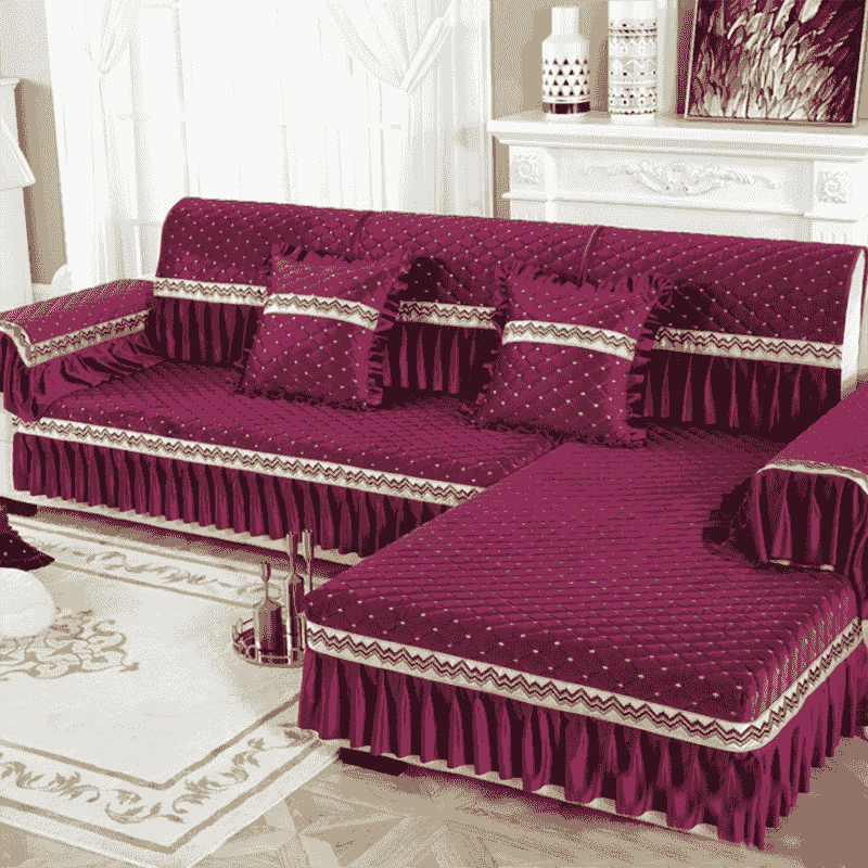 holland velvet sofa cover