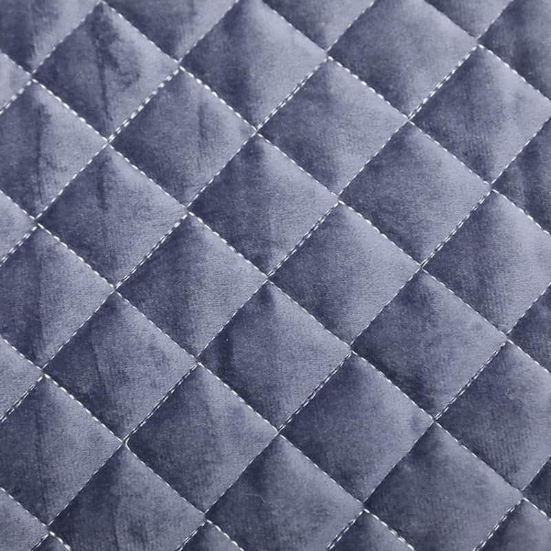 100% polyester breathable anti-slip quilted velvet fabric for mattress cover