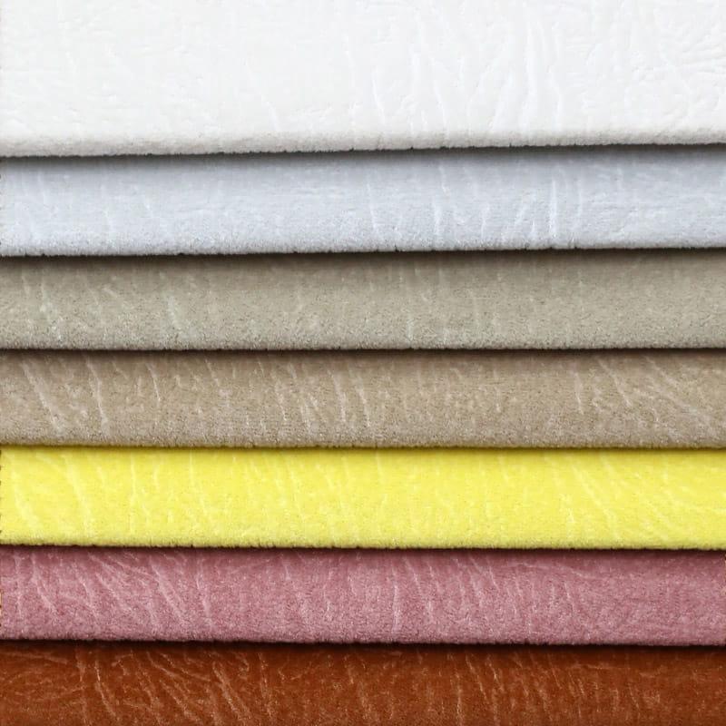 Embossed new design microfiber micro velboa polyester bronzed velvet fabric