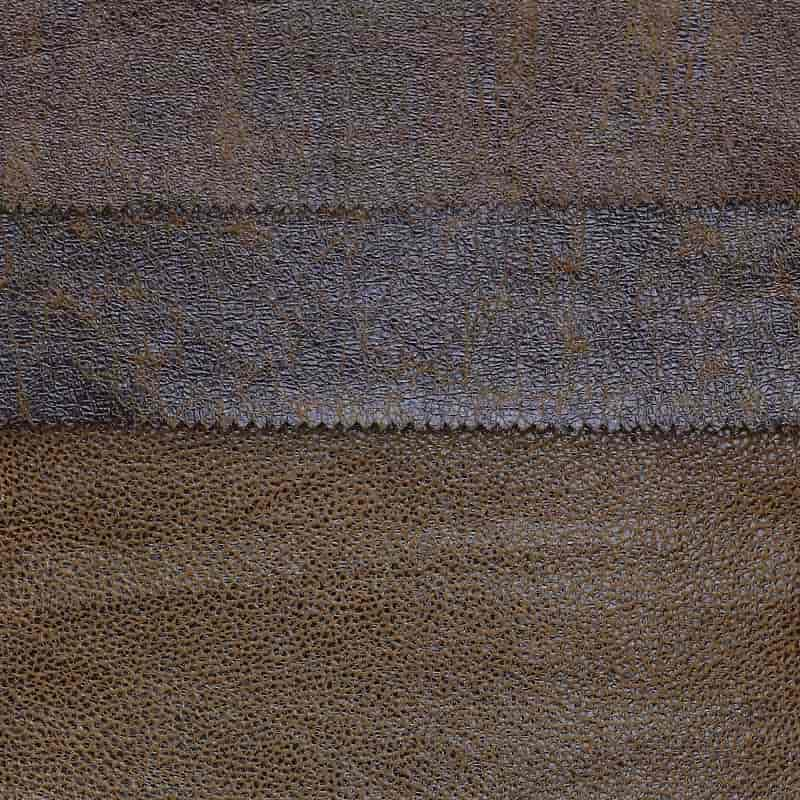 New design luxury bonded bronzed knitted suede leather fabric for sofa