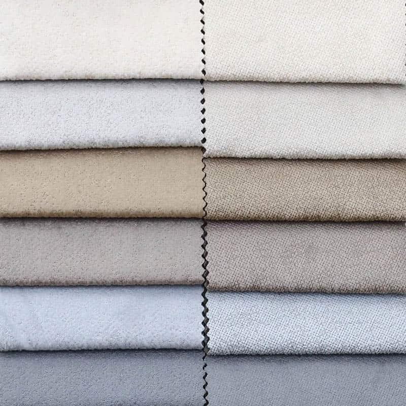 100 polyester printed bonded velvet curtain sofa upholstery fabric