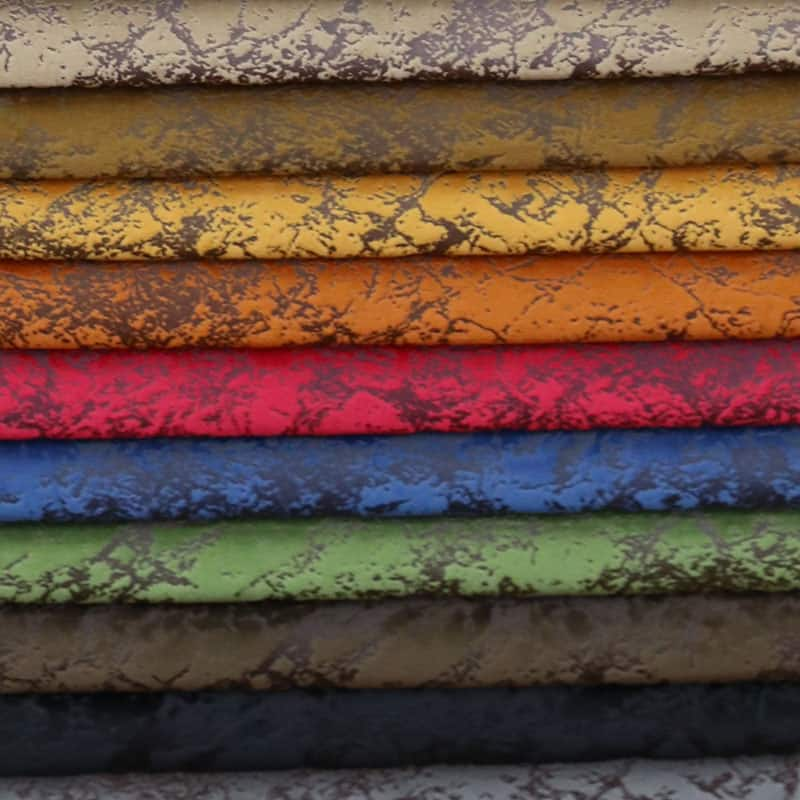 What are the types of furniture fabrics