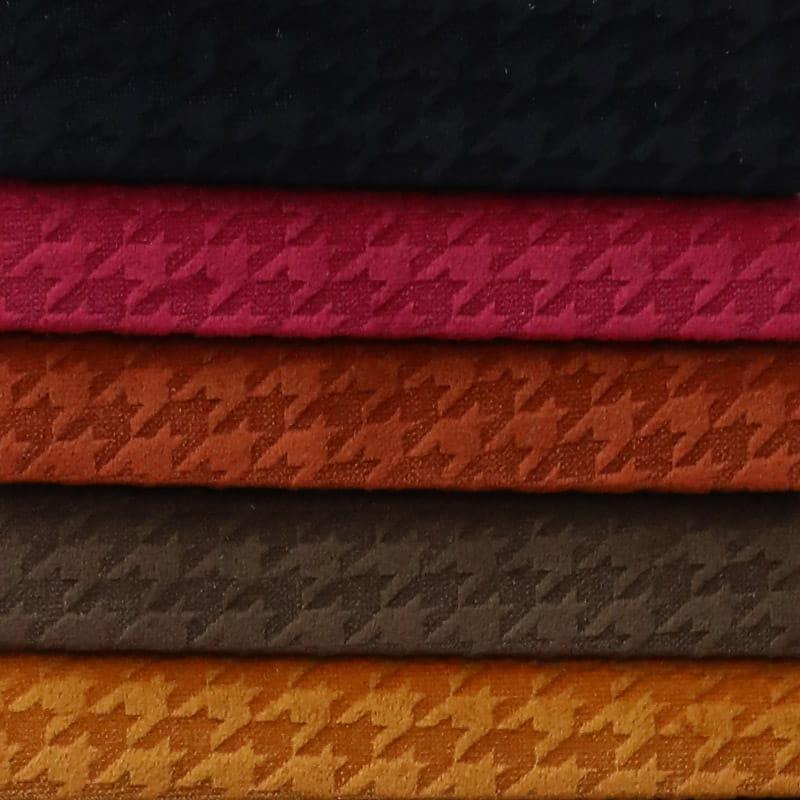 100% Polyester Microfiber Soft Burnout Bonded Velboa Sofa Fabric