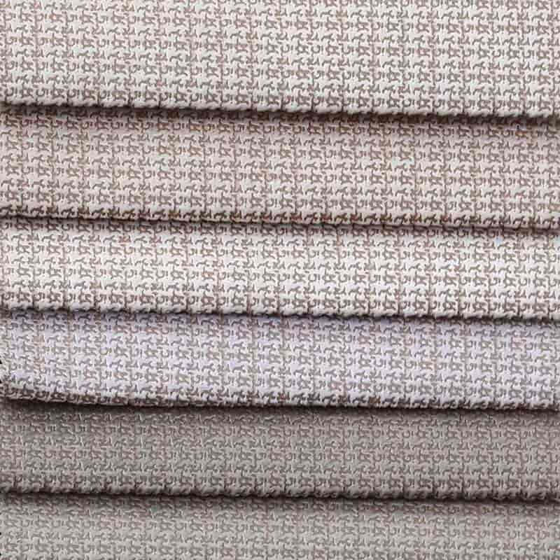2019 New design luxury bonded bronzed knitted polyester fabric for sofa