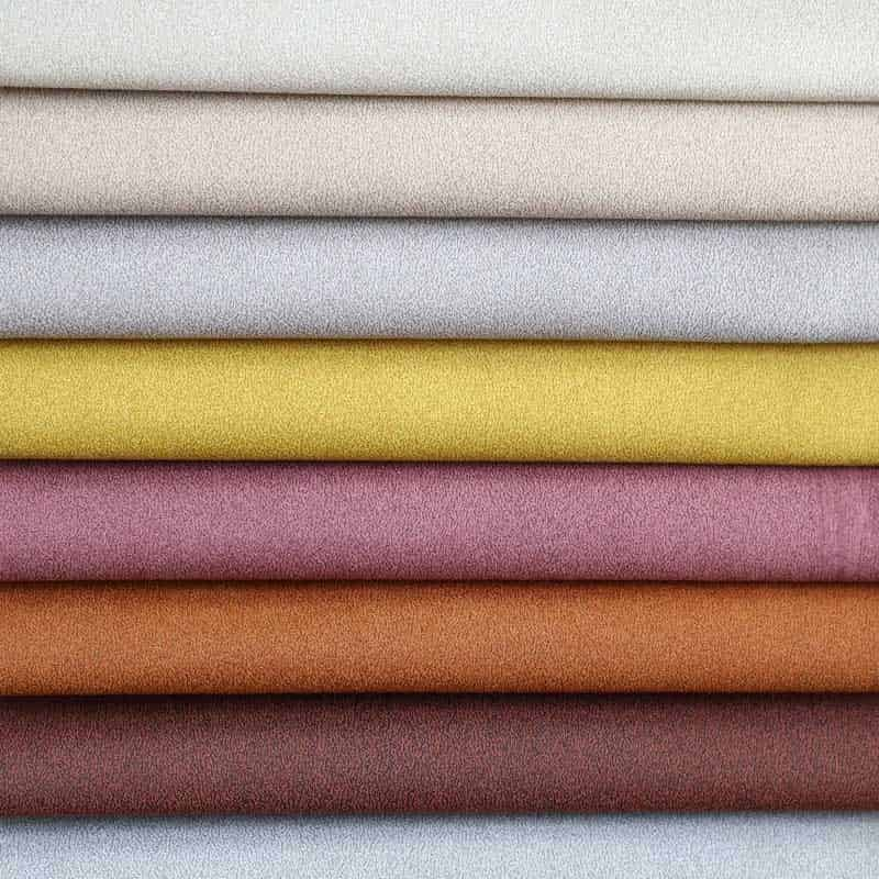 Fashion Bronzed microfiber Brushed bonded home textile fabric for sofa chair cover